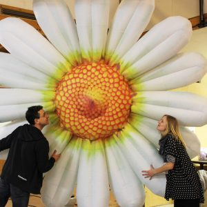3m inflatable daisy