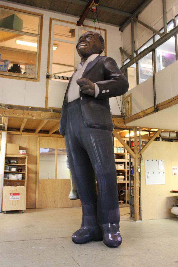 5m inflatable Louis Armstrong