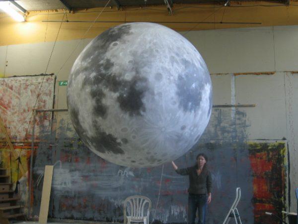 2m printed moon