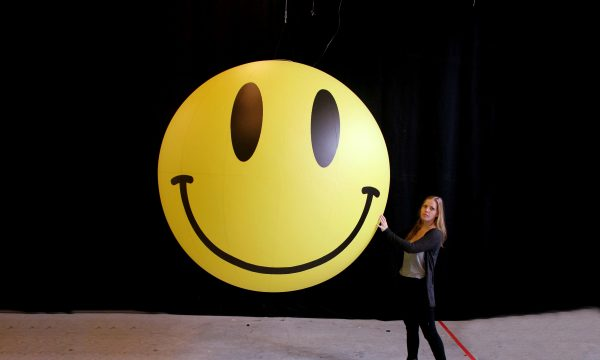 2m inflatable Smiley Face ball