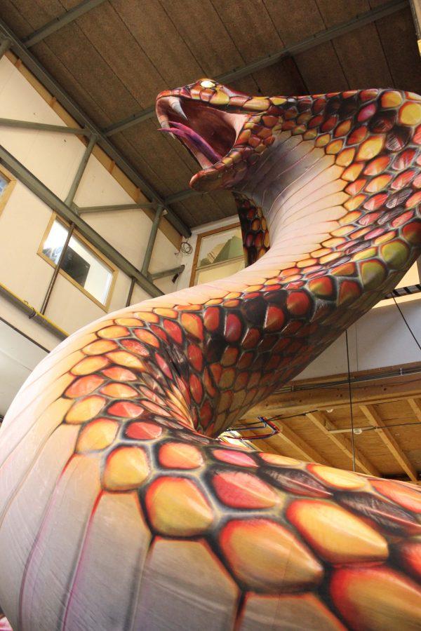 giant inflatable cobra