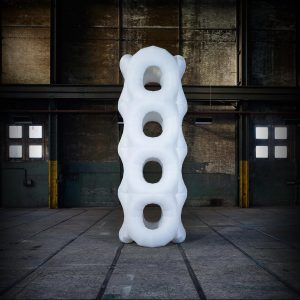 5.2m inflatable DNA Tower
