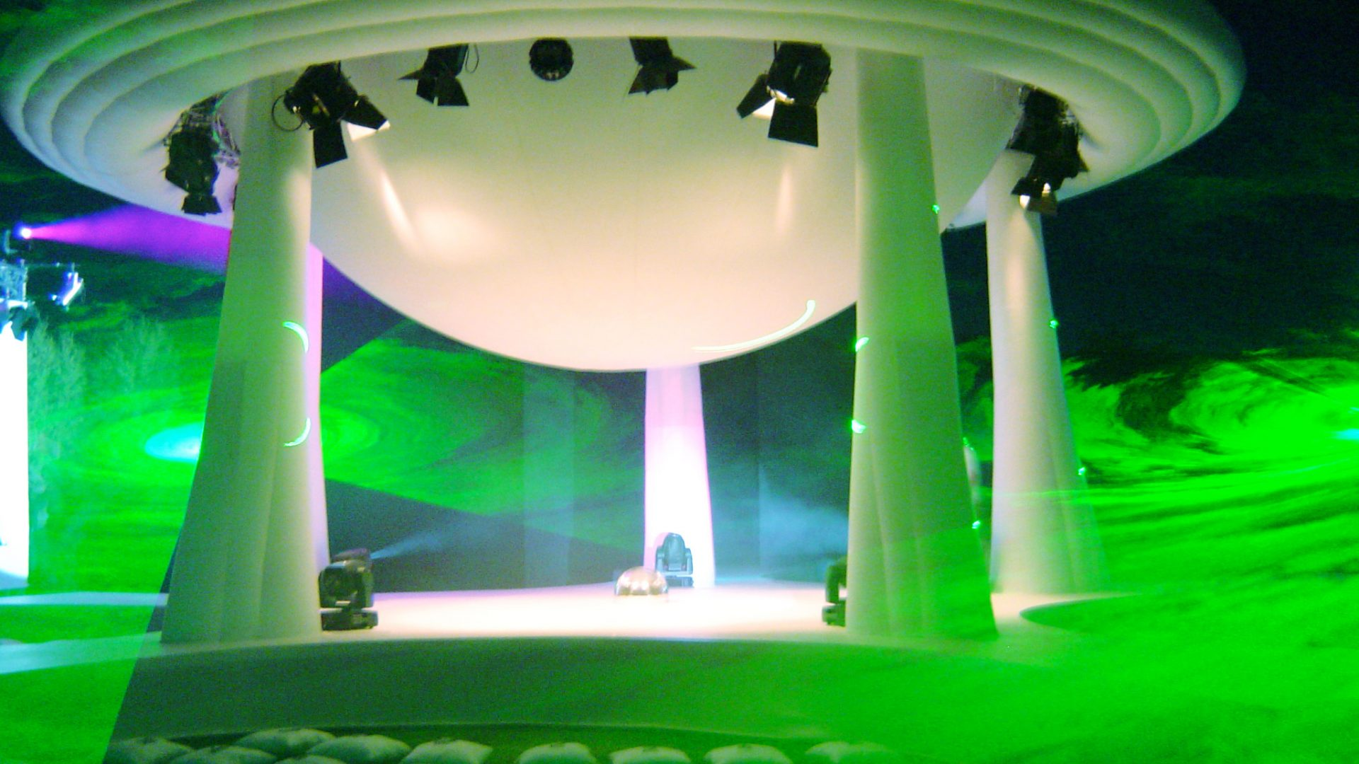 giant dome stage